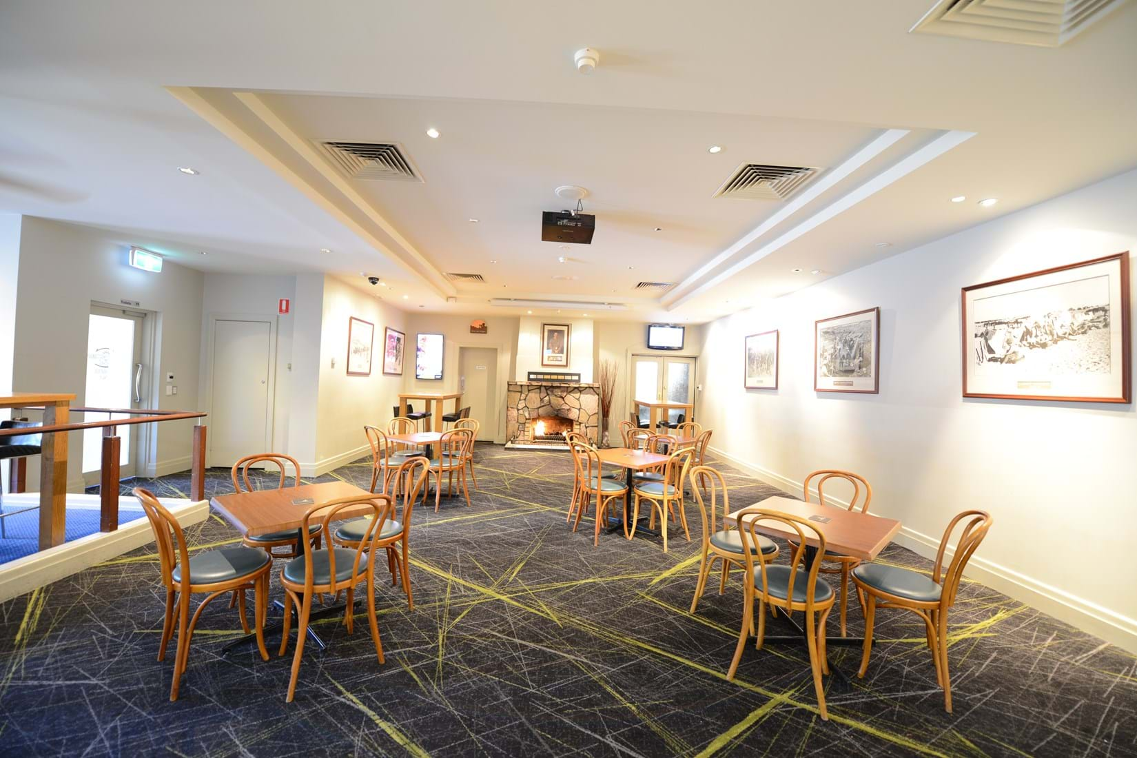 Image Gallery Caulfield RSL Functions Dining Room Bar