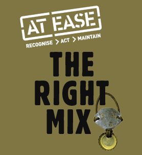 The Right Mix logo